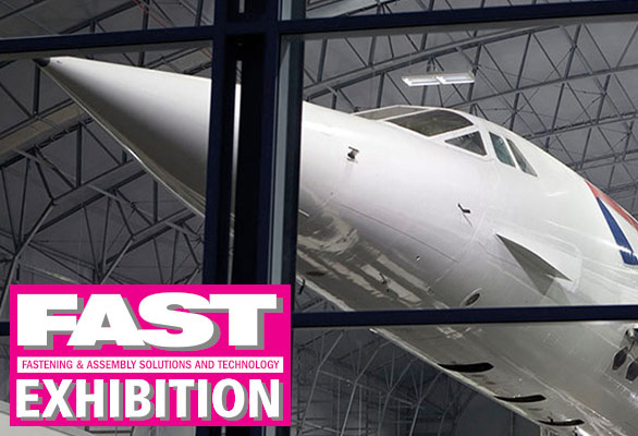 Fast Exhibition Logo with Concorde