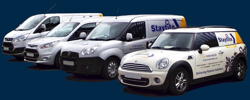 Staytite Kanban Delivery Vehicles